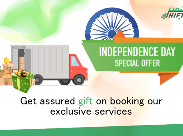 FREEDOM SALE: GET ASSURED Gift WORTH UP TO Rs. 5000 FOR BOOKING OUR EXCLUSIVE SERVICES