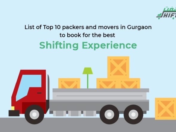 List of TOP 10 packers and movers in Gurgaon to book for the best shifting experience