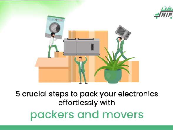 5 crucial steps to pack your electronics effortlessly with packers & movers