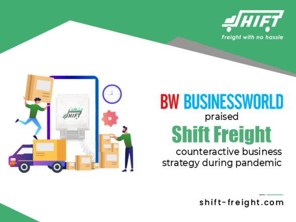 The Business World praised SHIFT FREIGHT's strategic business strategy during pandemic